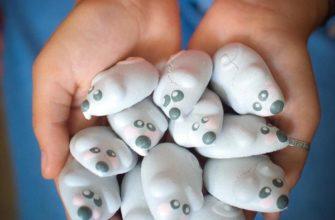 Мышки из меренги