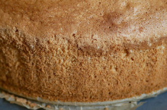 Бисквит который 100% получится/ Классический рецепт бисквита с крахмалом/ Идеальный бисквит для торта