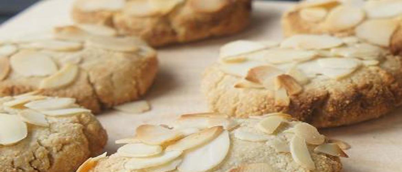 Миндальное печенье/ очень вкусное печенье к чаю/ простой рецепт миндального печенья к чаю