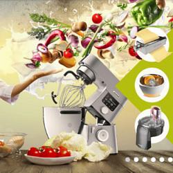 Акция при покупке Kenwood Cooking Chef