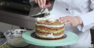 Бутербродный торт рецепт закуски (12)