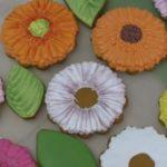 Цветы из пряника