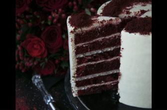 Самый вкусный торт - красный бархат - простой пошаговый рецепт приготовления в домашних условиях