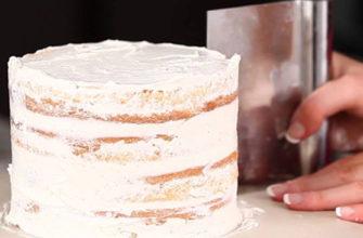 Как выровнять и собрать торт/ Сборка торта красный бархат/ Рецепт идеального крема для выравнивания