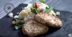 Куриные котлеты с рисом домашний рецепт (11)