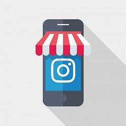 Логотип бизнес-профиля Instagram