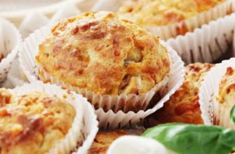 Маффины с курицей и сыром - простой рецепт в домашних условиях