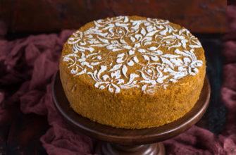 Медовик простой домашний торт. Рецепт.
