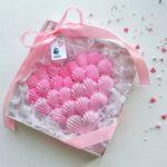 Нежное безе в форме сердечка Сладкий подарок на 14 февраля Простой рецепт меренги своими руками