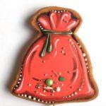 Роспись новогоднено пряника Мешок с подарками _-prostoy-poshagovyy-retseptпростой пошаговый рецепт