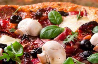 Домашний рецепт вкусной пиццы! Идеальное тесто для пиццы! Простой пошаговый рецепт приготовления!
