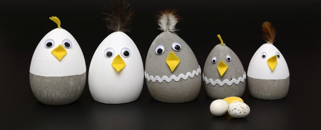 бетонные яйца