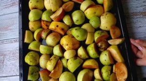 Белевская пастила из яблок в домашних условиях.
