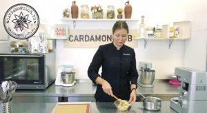 тарталетки на песочном тесте с карамелью и орехами 14