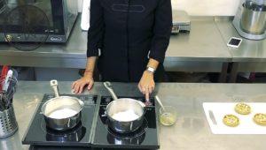 тарталетки на песочном тесте с карамелью и орехами 12