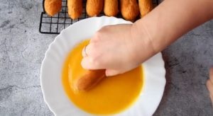 Заварного пирожного с кремом пломбир (8)