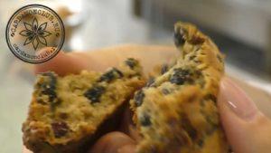 Овсяное печенье с ягодами без сахара. (3)