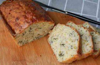 Рецепт хлеба с сыром и базиликом