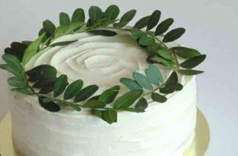Рецепт крема для выравнивания торта.