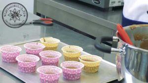 Шоколадные капкейки с банановым кремом пп рецепт. (4)