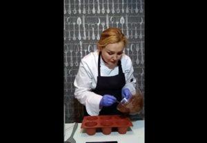 Шоколадный веганский брауни без яиц. (1)
