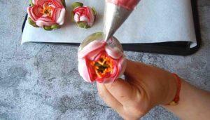 Цветы украшения для пасхального кулича (4)