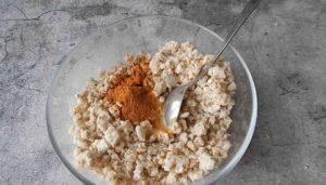 Рецепт пирожного муравейник пп за 10 минут(2)