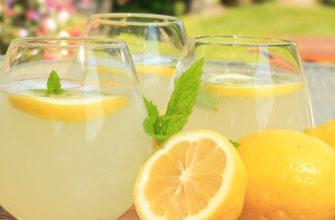 Турецкий домашний рецепт лимонада limonata(0)
