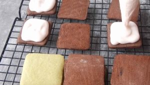 Вкусный рецепт домашнего печенья с начинкой.(14)
