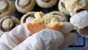 Домашнее печенье шампиньоны (8)