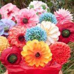 Букет из цветов на прянике (0)