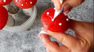Грибы. рецепт печенья из детства (13)